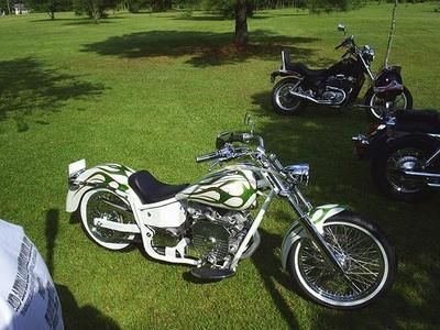 I love this bike because I am very short and the seat hight is 24 1/2  it is a 750 so it has great power oh and one of the great things about it is that