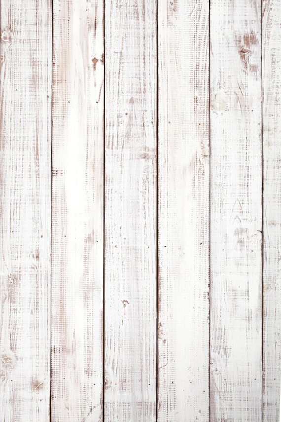 White Washed Wood Backdrop Brushed Vintage Plank Wooden