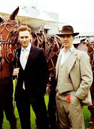 (tags: Tom Hiddleston, Benedict Cumberbatch, War Horse ...Tom Hiddleston Benedict Cumberbatch War Horse