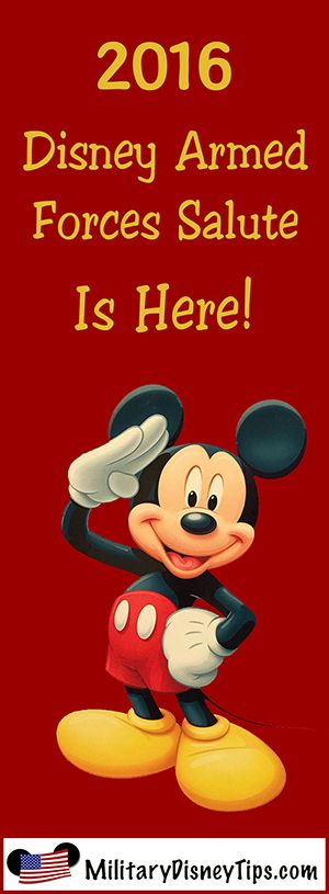 Hey military want to take you & the fam to Disney for free or deeply reduced price? Check out Disney Armed Forces Salute Military Tickets. I'm taking my kids for part of their Christmas. Check it out. It's a great deal!!