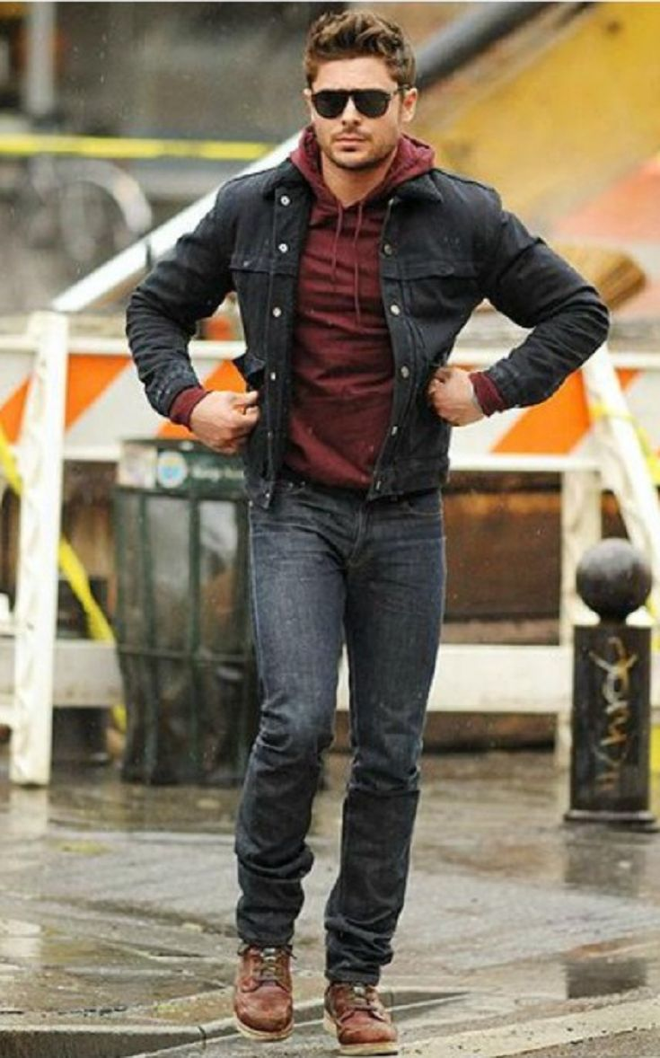 Your Guide To Wearing A Denim Jacket Men S Fashion Pinterest