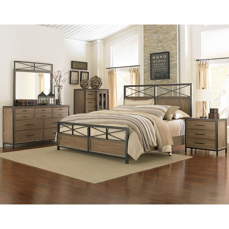 metal daleena sets bedroom set home studio design furniture ashley