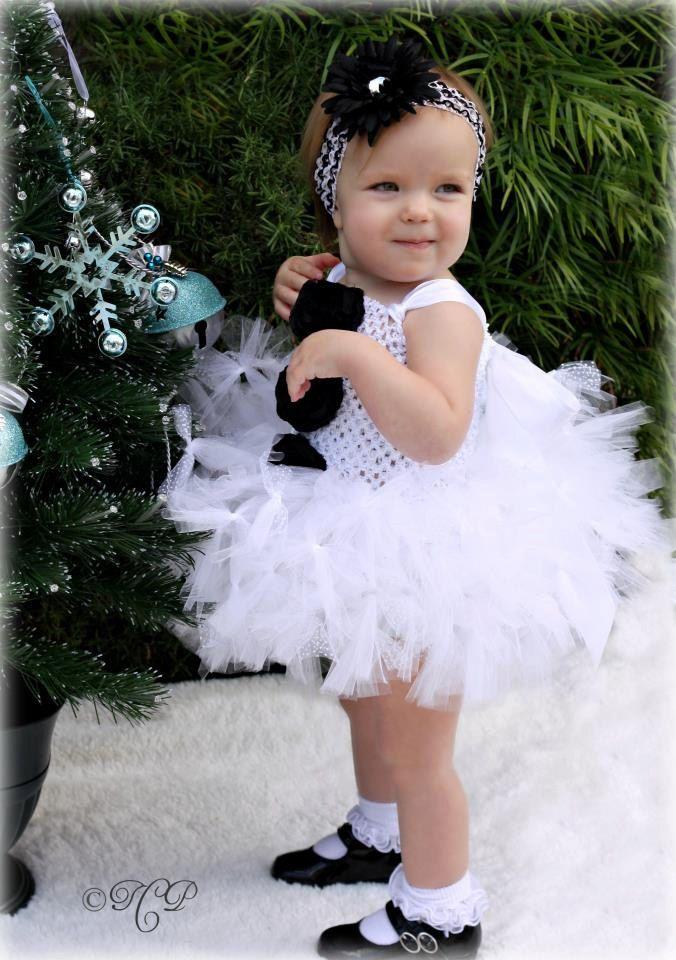 Christmas Tutu Dress, Snowman Tutu Dress, Christmas Tutu, Newborn to 2 Toddler. $49.50, via Etsy.