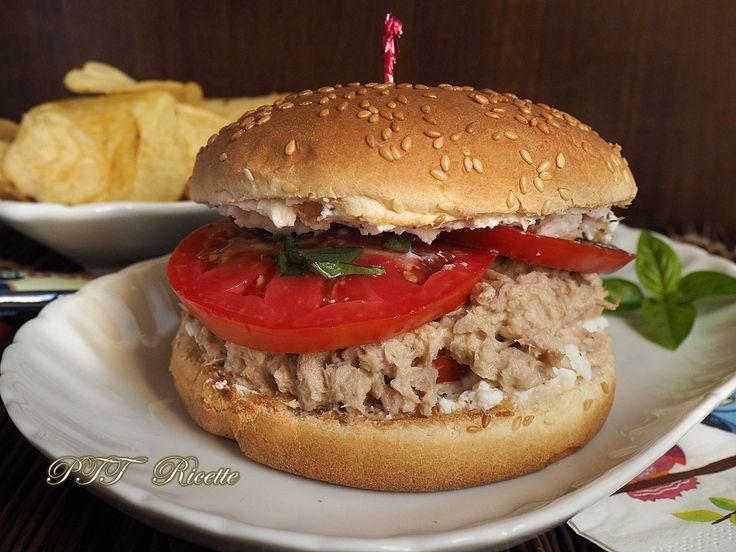 Bien-aimé Oltre 25 fantastiche idee su Ricetta panino hamburger su Pinterest  YY59