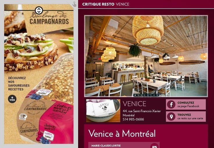 Venice à Montréal - La Presse+