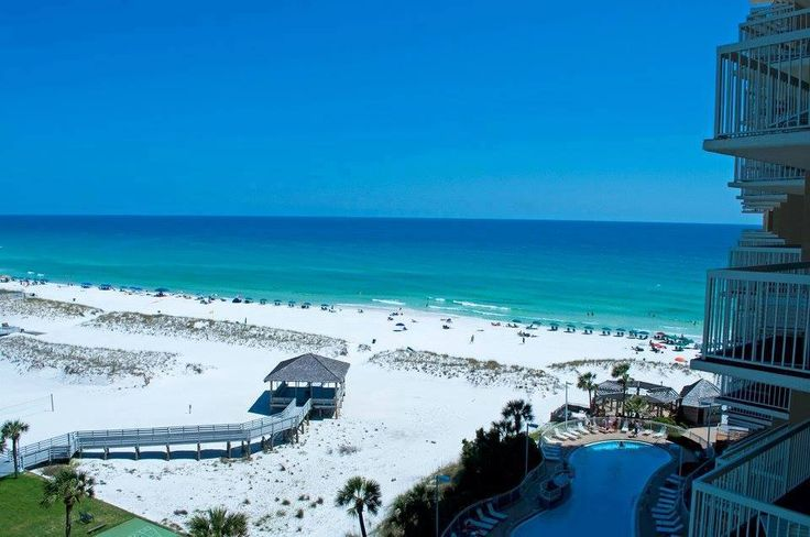 Destin's Florida's Best Vacation Condo Rentals! Located at the heart of the Destin resort area, the Resorts of Pelican Beach is a private resort community overlooking the world-famous white-sand beaches and the Gulf of Mexico in the heart of the Destin, Florida resort area. Once guests pass through the gated entry, they leave behind the hustle and bustle of everyday distractions and enter a tropical oasis.