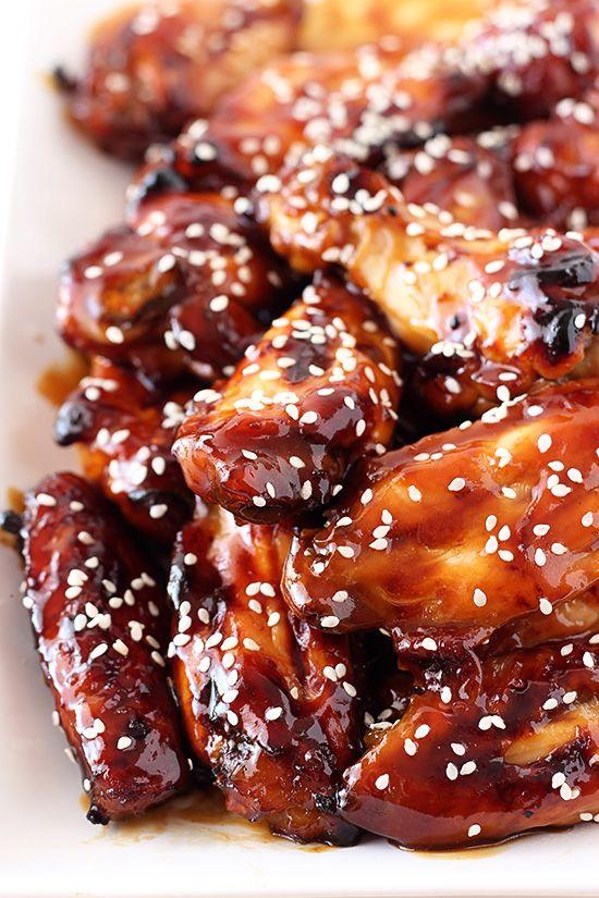 Honey Baked Teriyaki Chicken Wings Recipe