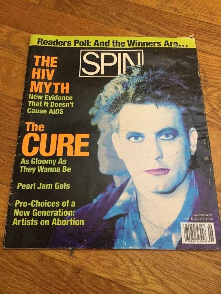SPIN Magazine June 1992 The Cure Underground Alternative Music Magazine
