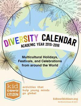 Diversity Calendar :: world festivals :: religious studies resources :: multicultural resources