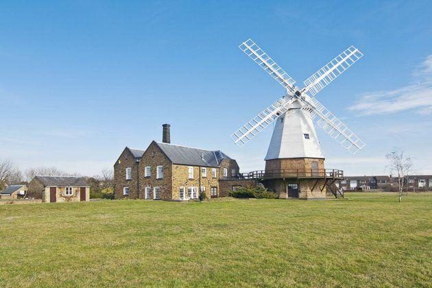 Amazing windmill homes for sale [Baker Street Mills is a smock mill in Essex (Strutt & Parker)]