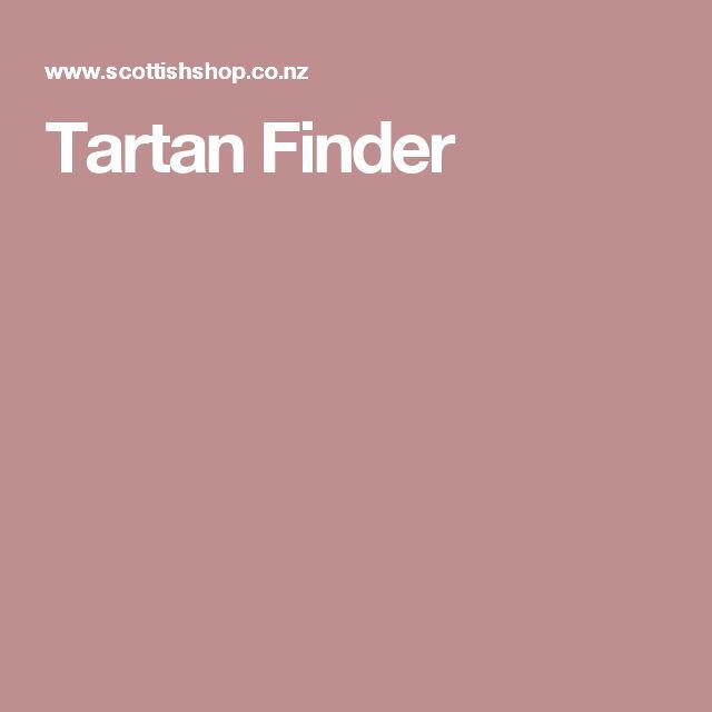 Tartan Finder