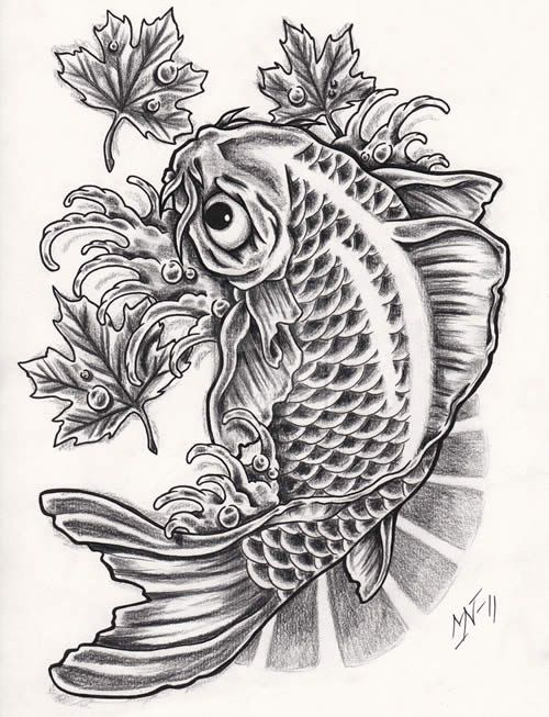 29 best amazing black fish tattoo koi images on pinterest for Amazing koi fish
