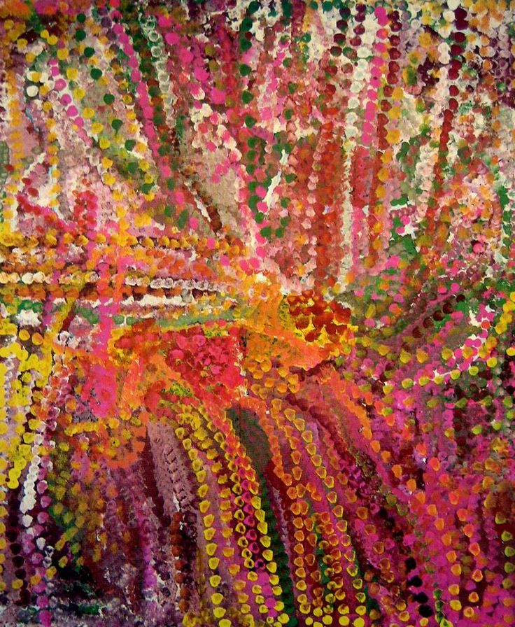 Anooralya 1992, Emily Kame Kngwarreye Synthetic polymer paint on linen, 151 x 121 cm