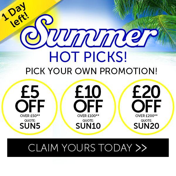 Summer Hot picks 1 day left!