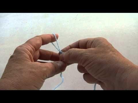 Patucos para bebé / Bootees for babies. Modelo 3. | Tricotar para peques - Knitting for kids