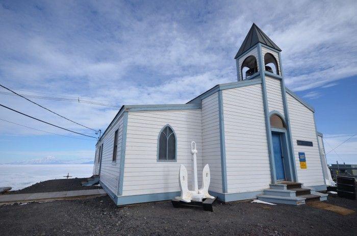 La Iglesia Mormona... En la Antártida