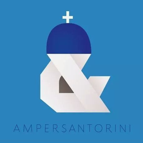"@sophie_elinor , a custom lettering artist, inspired by the ampersand and created the font of #Santorini. This ""local"" font named Amper Santorini and entered to the #wiredmagazine list of the 15 most innovative and modern fonts!"