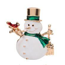 Рождественский костюм снеговика брошь булавки для женщин Красный горный хрусталь Рождественские Броши много воротник зажим для платка пря...(China (Mainland))