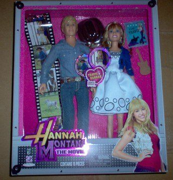 Very Rare Collectible and hard to find online and offline.  Unopened Brand New 2009 Jakks Pacific, Hannah Montana 2-pk. - Hannah and Travis.  Click on the link to purchase this item.