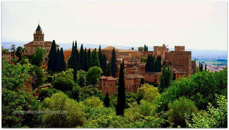 izler ve yansımalar: Endülüs'ün Yaşayan Efsanesi Elhamra Sarayı