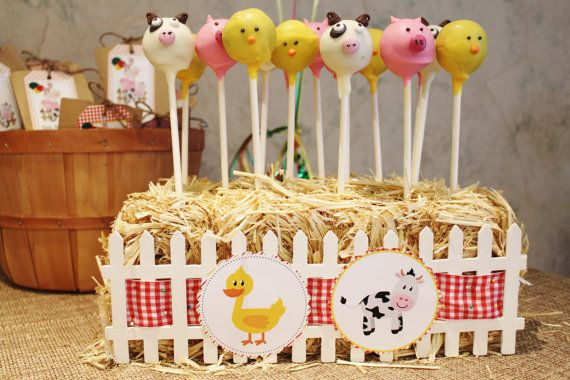 Barnyard Themed Party Printable Package by CrowningDetails on Etsy