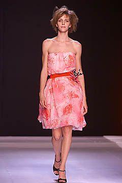 Martine Sitbon Spring 2001 Ready-to-Wear Fashion Show - Lisa Ratliffe, Martine Sitbon