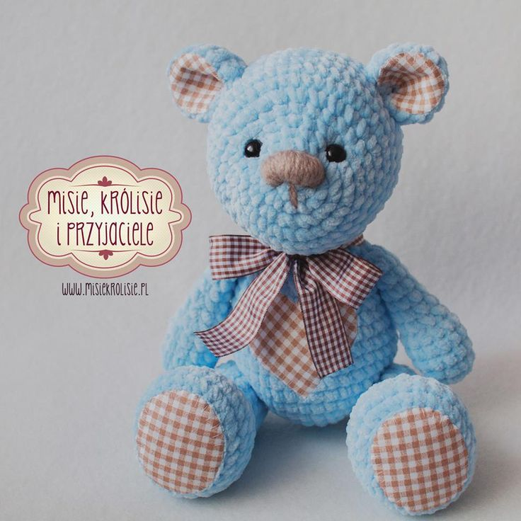 www.polandhandmade.pl #polandhandmade #crochet #misiekroliskie