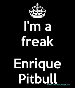 I'm A Freak ft. Pitbull Lyrics Enrique Iglesias Pitbull Mr. Worldwide Let's go I tried to let it go But I'm addicted to your chemicals I got a piece,,,,