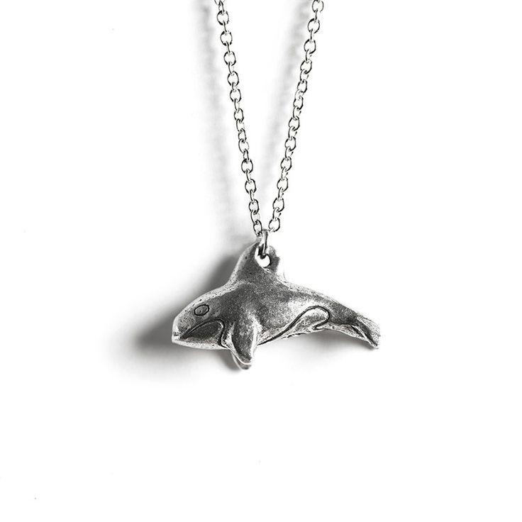 Le Guardian Orca Necklace