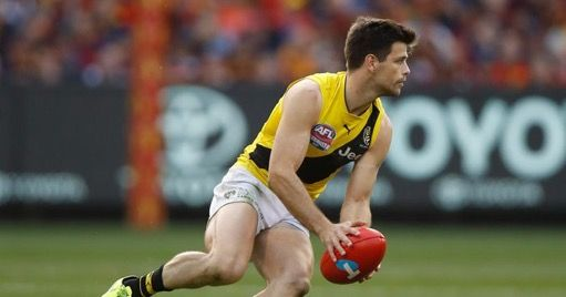 Richmond captain, Trent Cotchin.