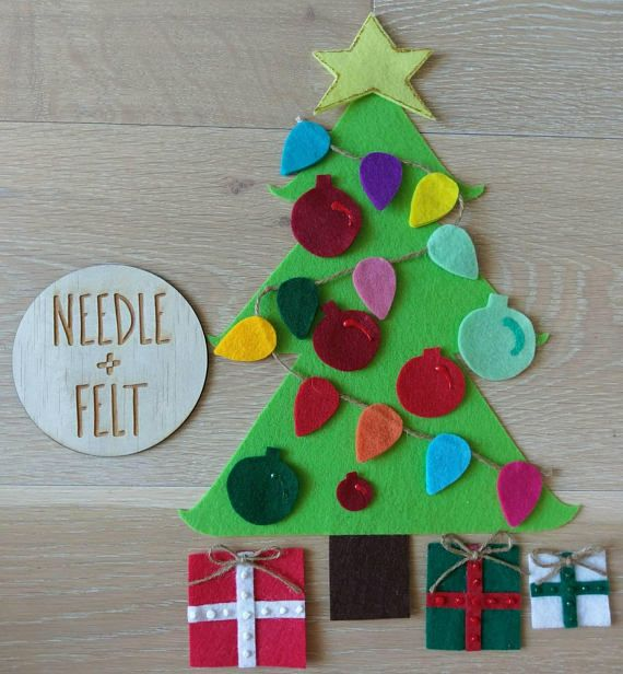 Christmas Felt Board Tree
