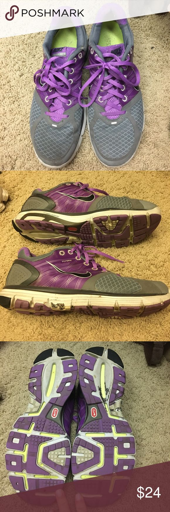 Nike lunarglide 2 GUC size 9.. super comfy for walking Nike Shoes Sneakers