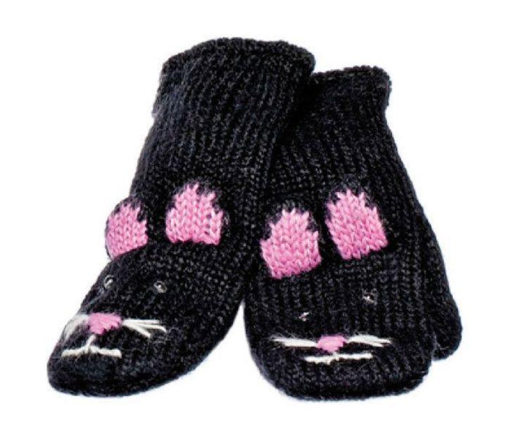 Votter, Kiki the Kitty, 2-6 år fra Sprell. Om denne nettbutikken: http://nettbutikknytt.no/sprell-no/