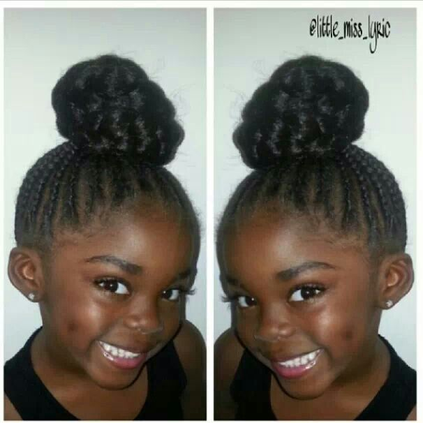 Cool 1000 Images About Little Girl Styles On Pinterest Updo Two Short Hairstyles For Black Women Fulllsitofus