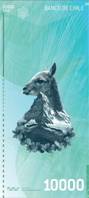 Billetes Nuevo Chile (banknotes new Chile) on Behance