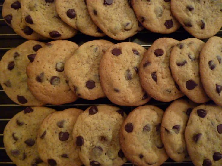 This is the best chocolate chip cookie recipe I have ever used. We bake them at home all the time. Crunchy on the outside, chewy on the inside with lots of semi-sweet chocolate chips. Youll be baking them all the time.