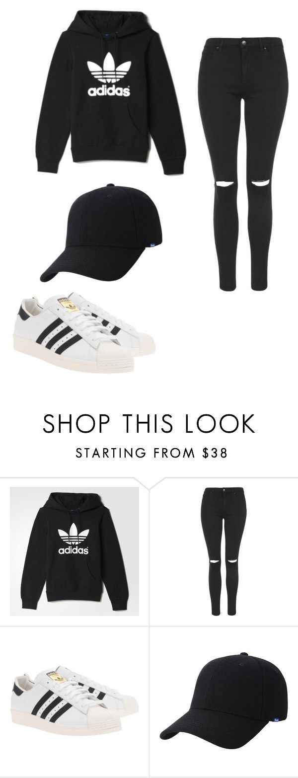 """dark soul"" by maggie1967 ❤ liked on Polyvore featuring adidas, Topshop, adidas Originals and Keds"