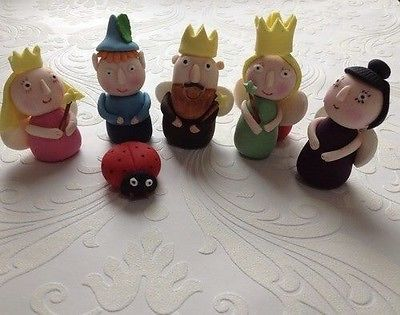 Edible Holly Cake Decorations Asda : Ben and holly nanny plum set edible cake toppers Set Of 6 ...