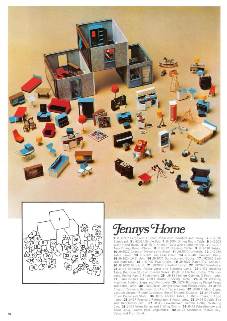 """1970: """"Jenny's Home"""" range (page 2 of 2)"""