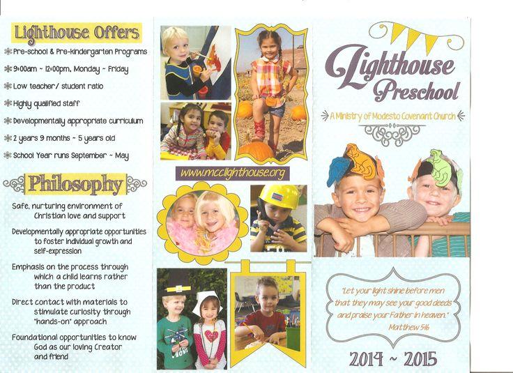 16 best Preschool Information images on Pinterest Kid garden - kindergarten brochure template