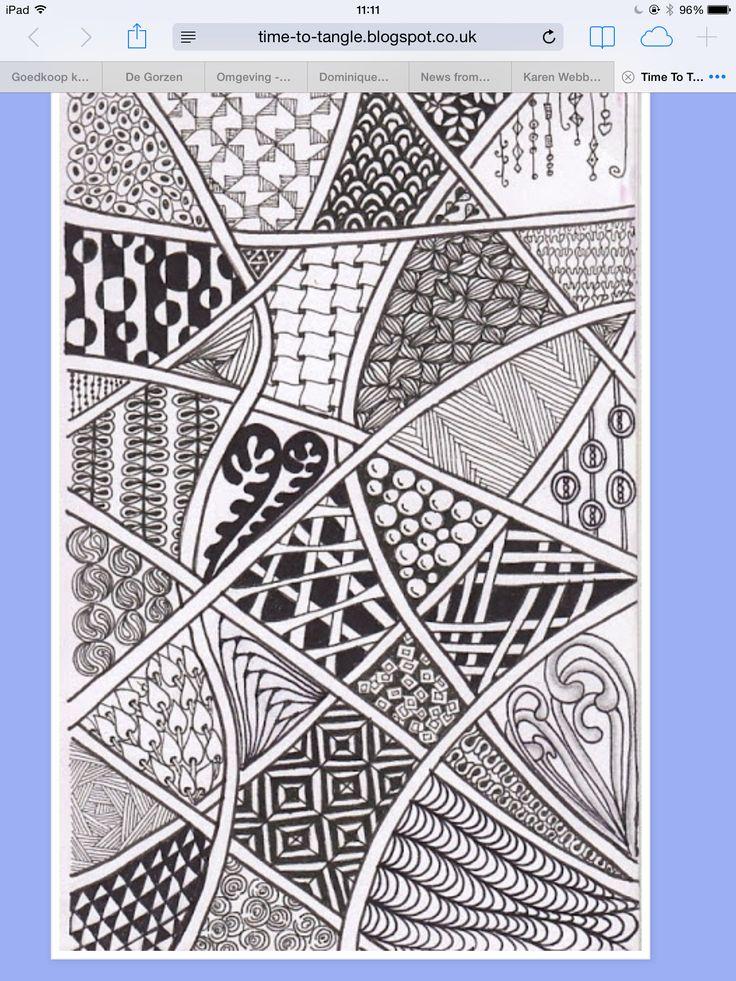 2547 best doodles zentangle images on pinterest mandalas doodle patterns and drawing. Black Bedroom Furniture Sets. Home Design Ideas