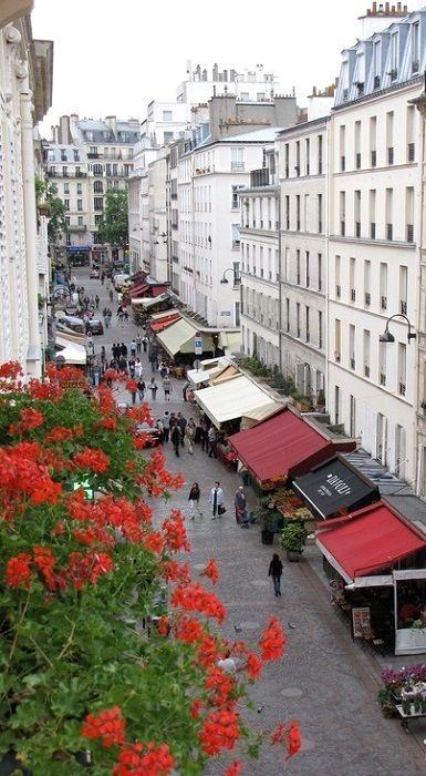 Rue Cler.. Paris, France.