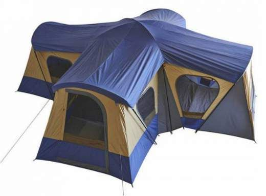 Ozark Trail Base Camp 14-Person Cabin Tent Review – 20 x 20 Feet  This Ozark Trail Base Camp 14-Person Cabin Tent Review is about one of the largest cabin-type family camping tents on the market, with 4 separate rooms and 12 windows.#tents, #familycampingtents, #camping, #outdoors, #outdoorequipment