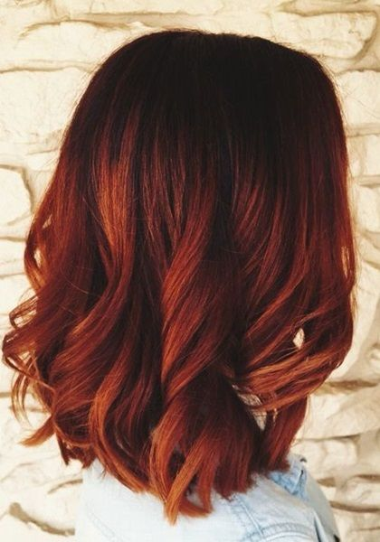 best 25 dark red balayage ideas on pinterest dark red. Black Bedroom Furniture Sets. Home Design Ideas