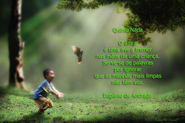 Doce Pimentinha: QUASE NADA - Eugénio Andrade