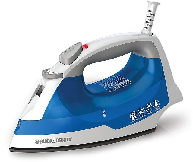 BlackDecker Easy Steam Iron Only  Earn $5.10 SYW Points $9.99 (kmart.com)