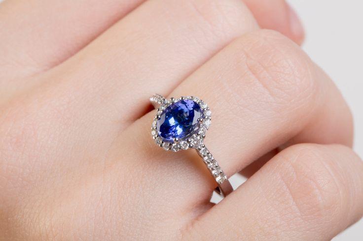 15%off 14k Gold Ring TANZANITE Ring 14k Tanzanite Ring