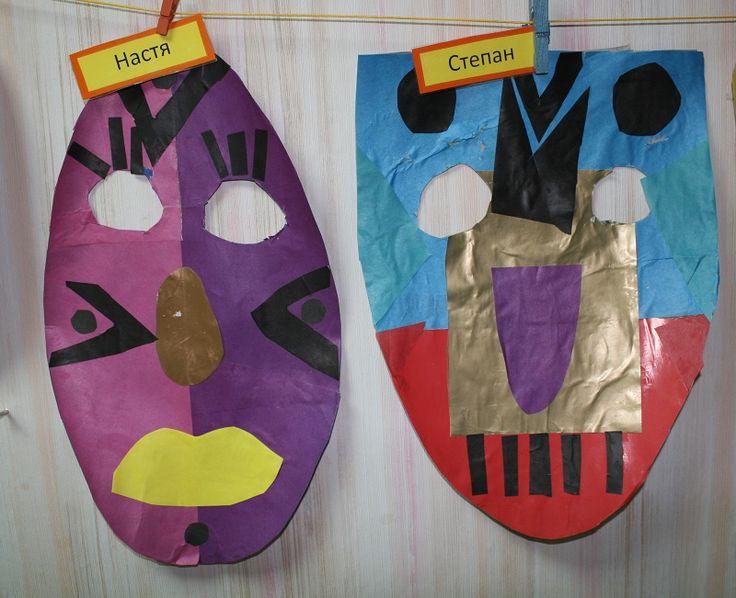 Африканские ритуальные маски.