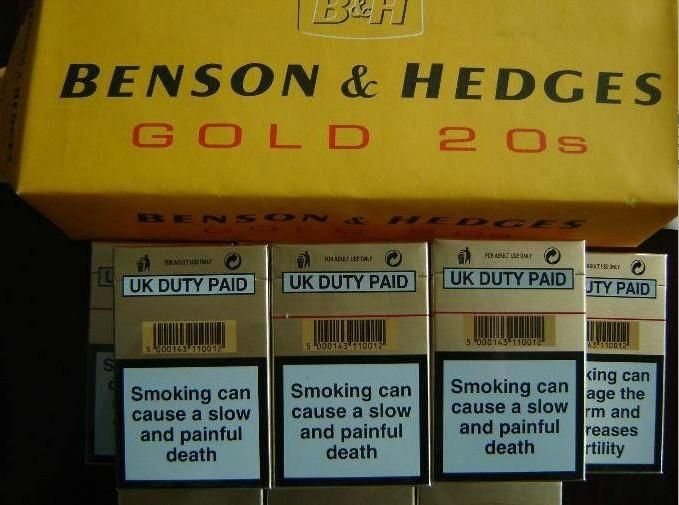 Buying cigarettes Regal at Costco