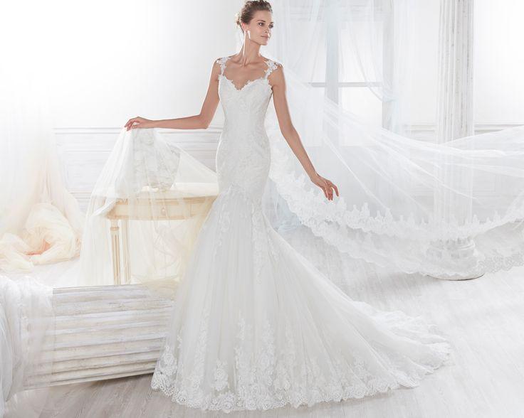 Fashion bride 2018 - Collection NICOLE. NIAB18129. Wedding Dress Nicole.